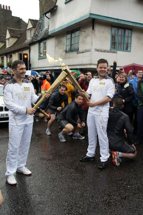 The Olympic Torch Relay was a masterclass in the power of ritual and symbols.